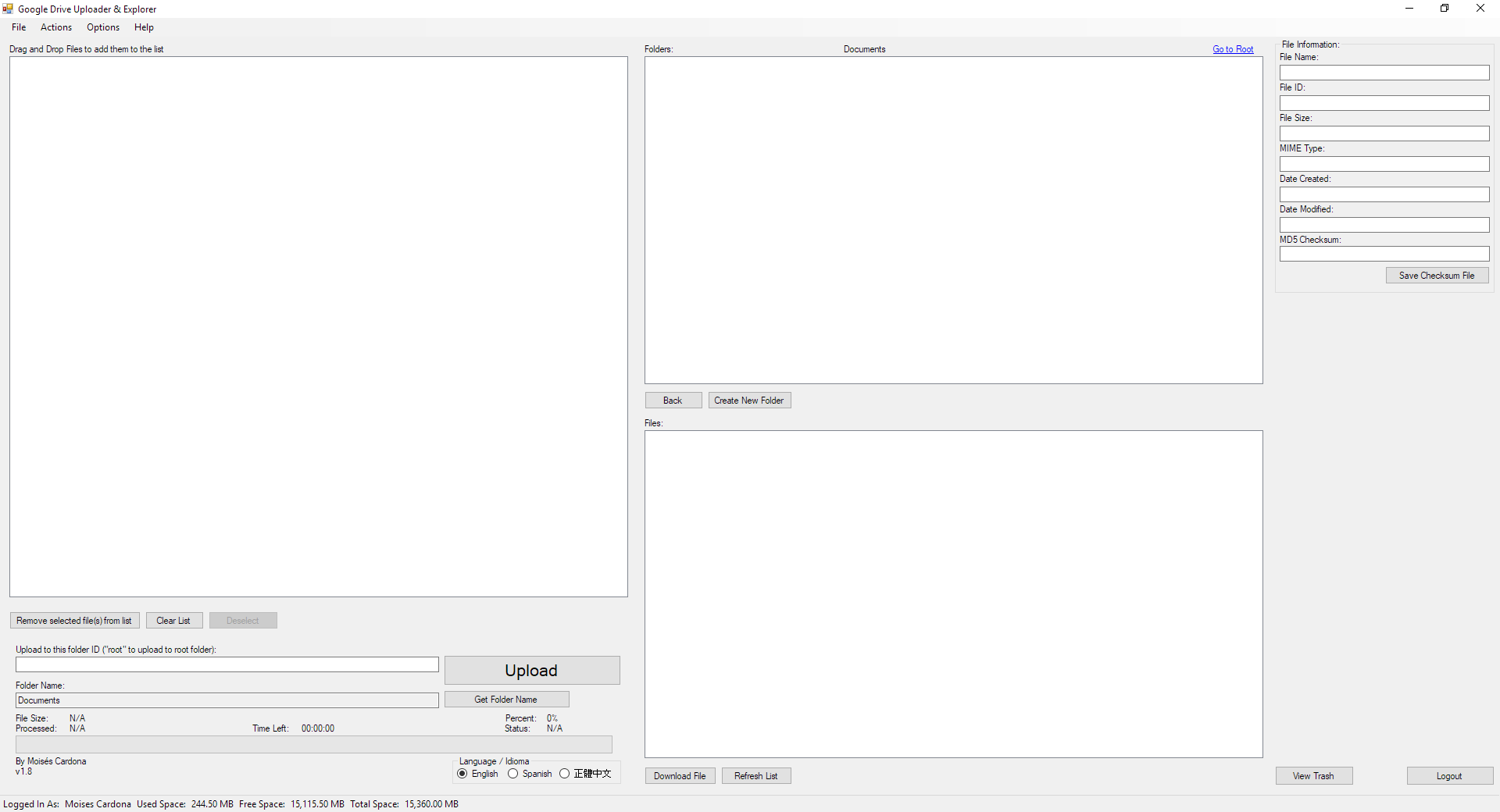 Google Drive Upload Tool v1.8 - 7