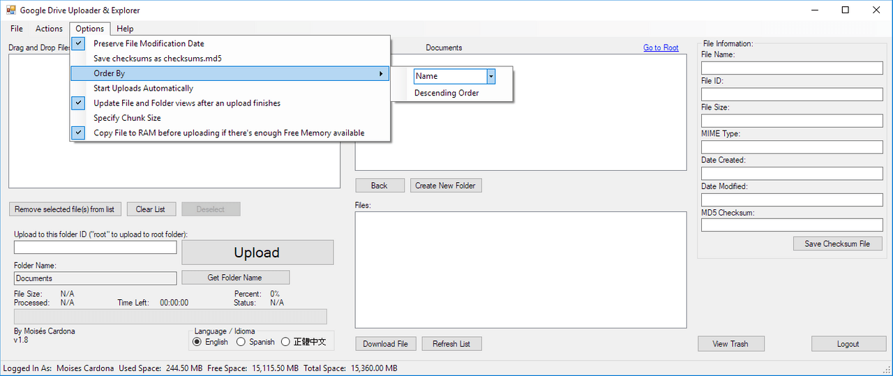 Google Drive Upload Tool v1.8 - 8