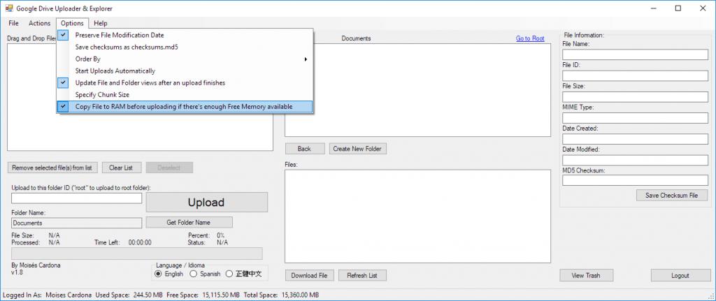 Google Drive Upload Tool v1.8 - 9