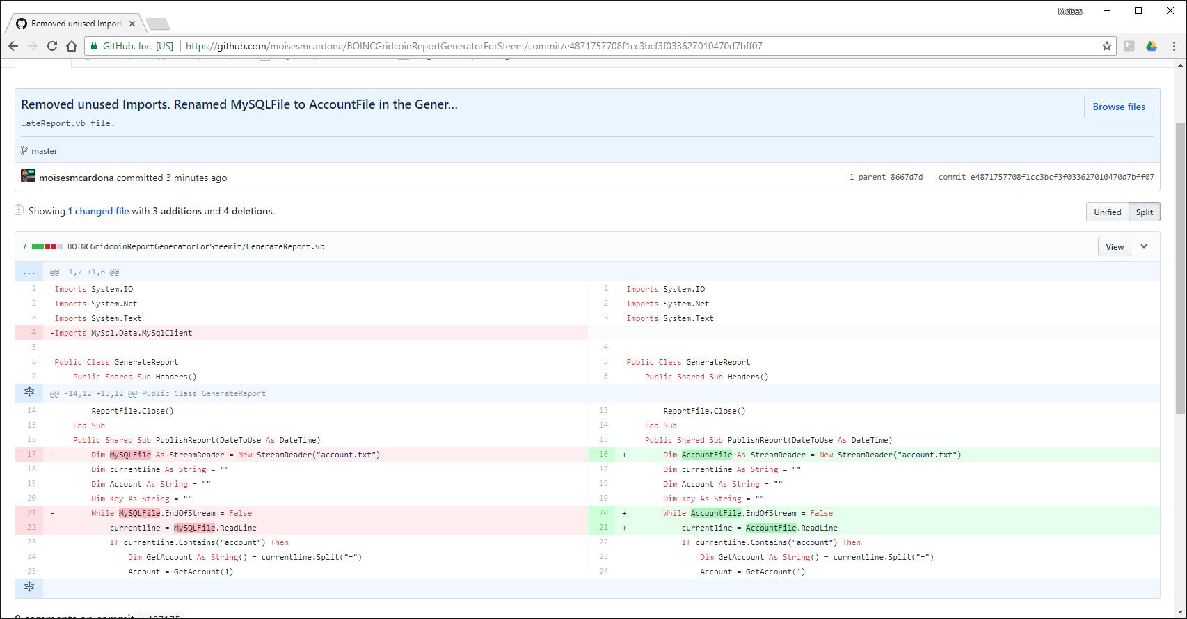 Gridcoin bug fix