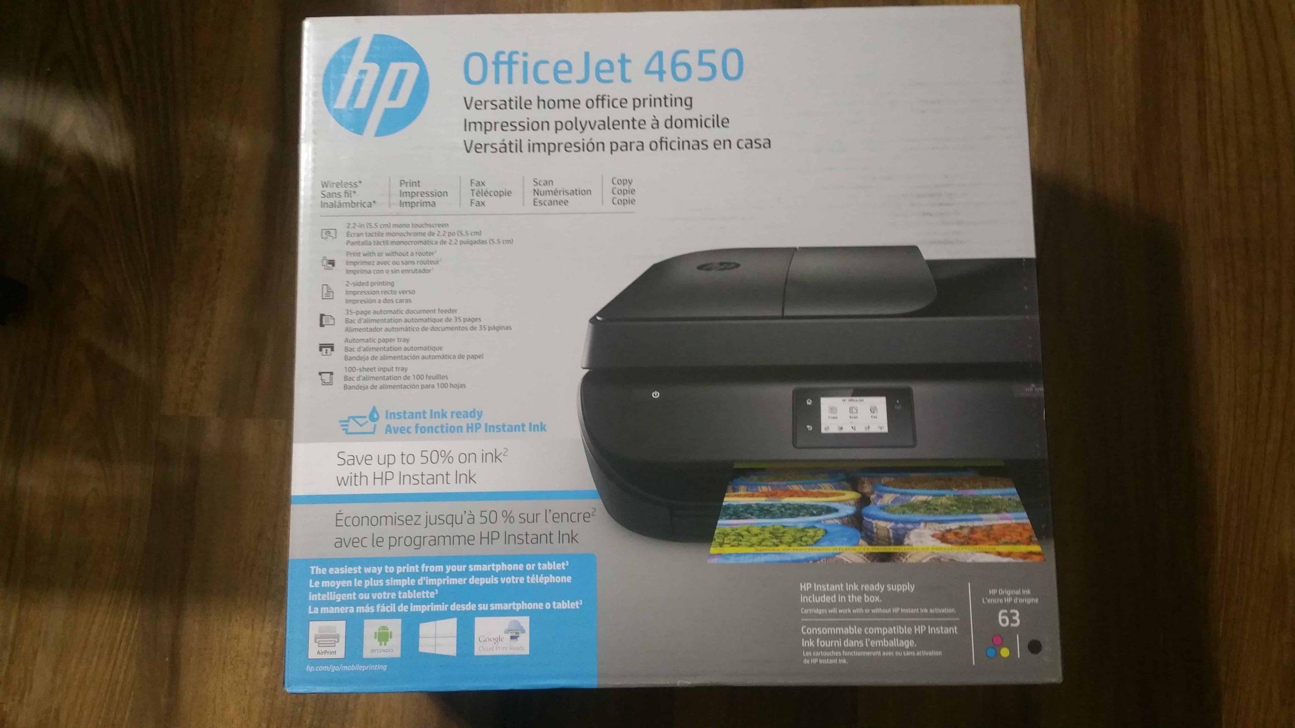 HP OfficeJet 4650 - 1