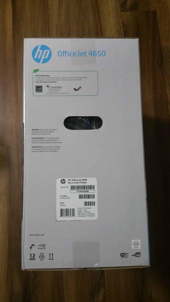 HP OfficeJet 4650 - 3
