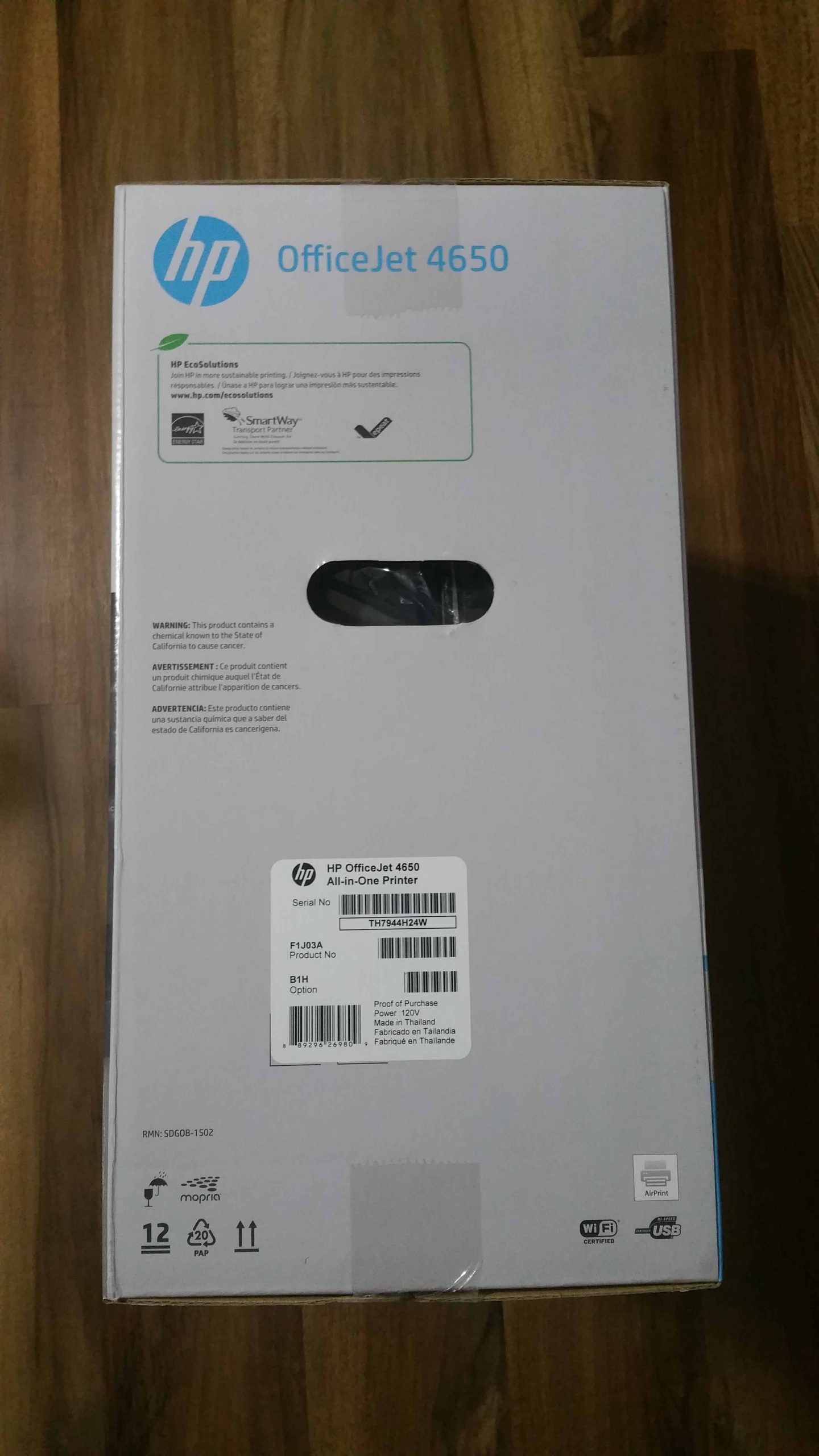 HP OfficeJet 4650 - 3