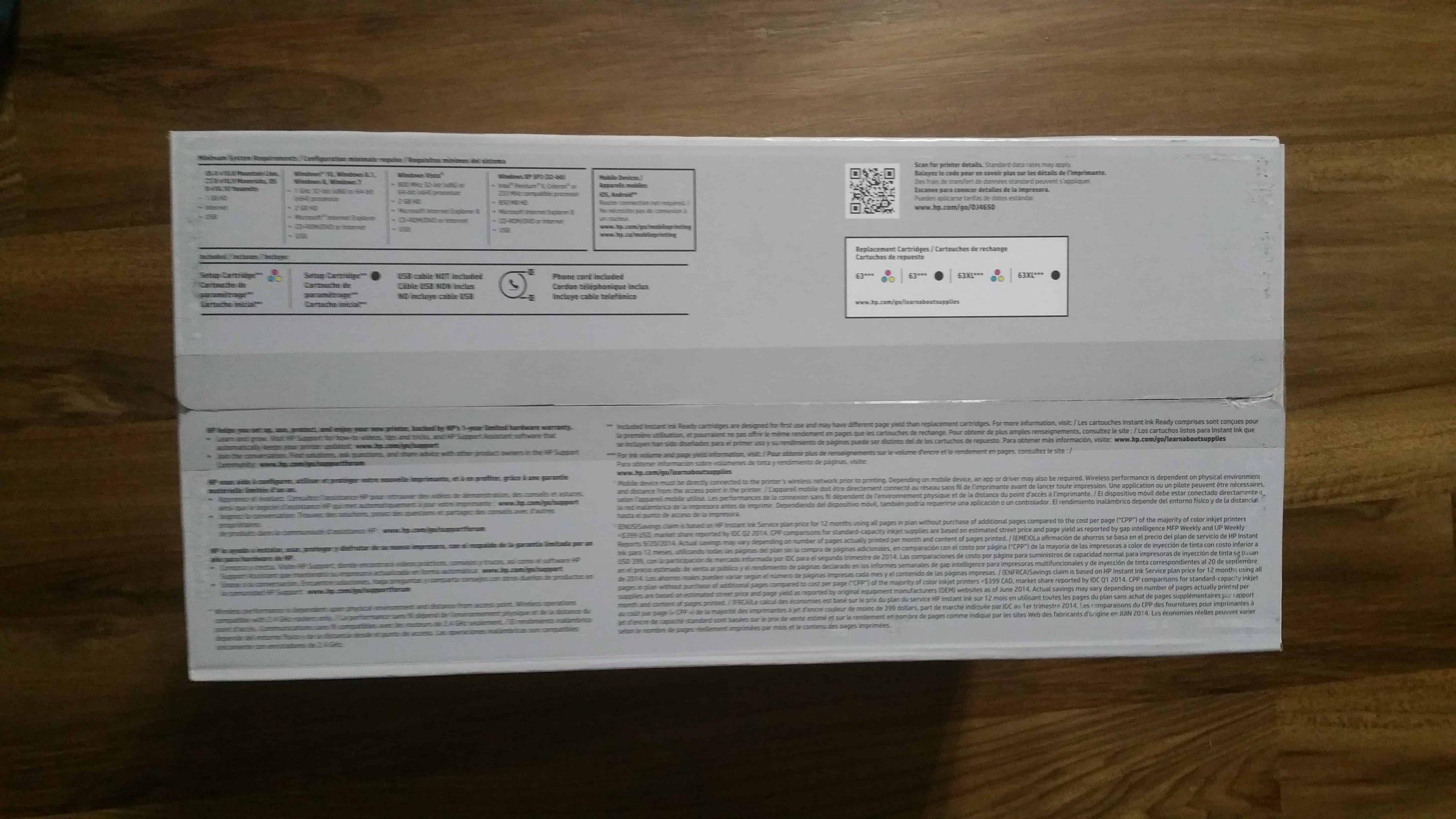 HP OfficeJet 4650 - 4