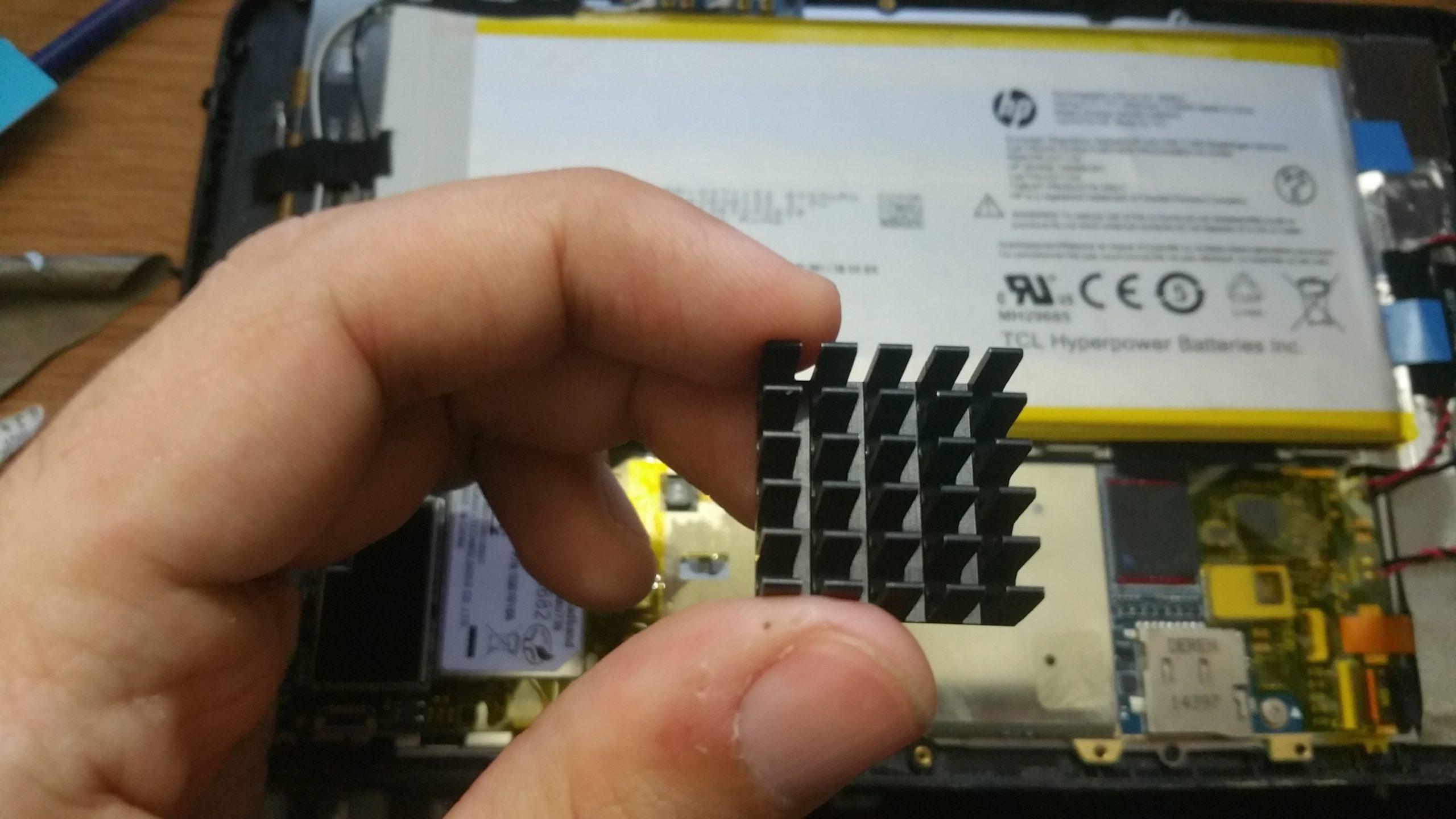 HP Stream 7 and 8 Heatsink Mod 2.5