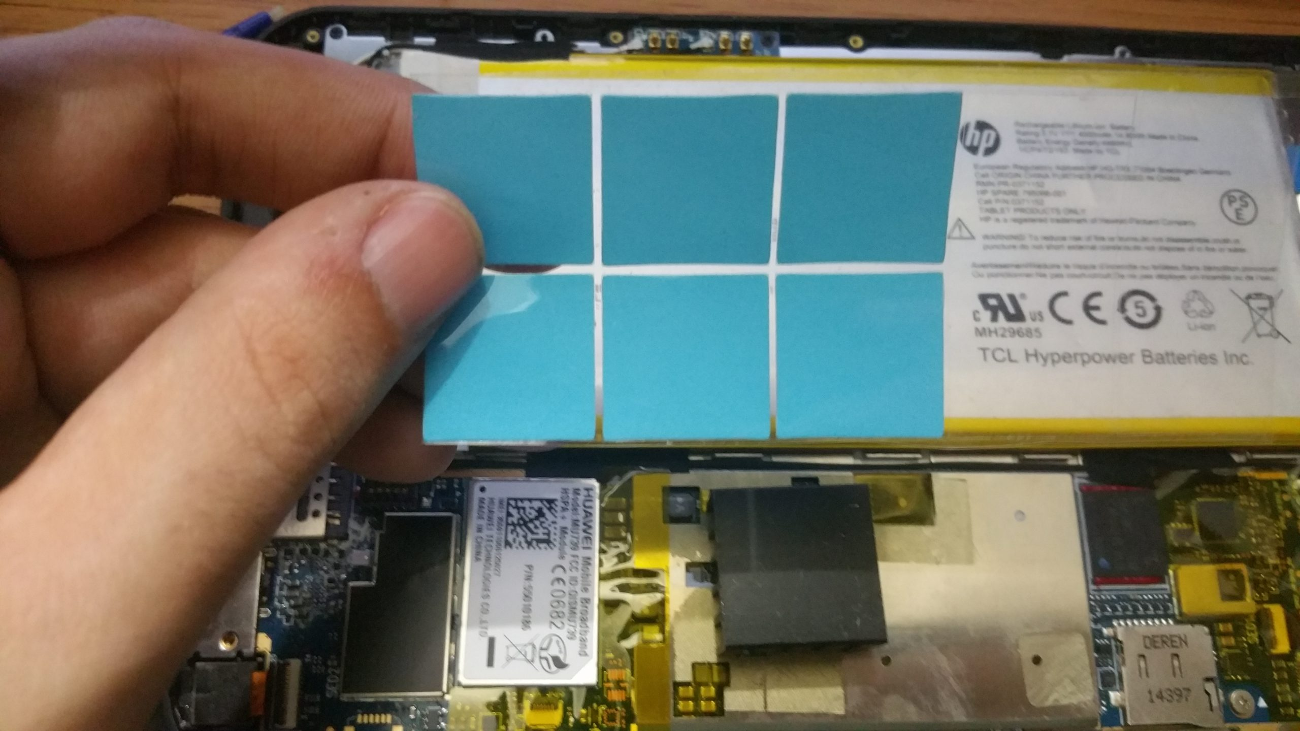 HP Stream 7 and 8 Heatsink Mod 3