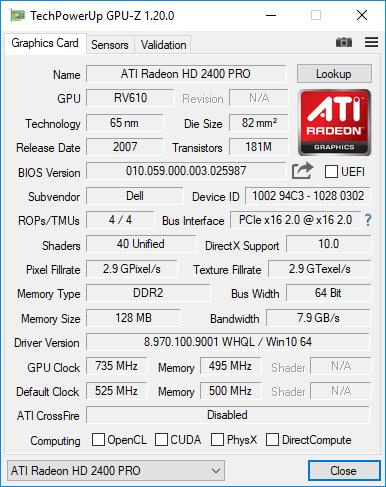 Intel Xeon X5570 GPU-Z