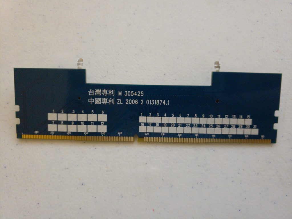 JET-5608AK DDR4 SODIMM to DIMM Adapter - 4