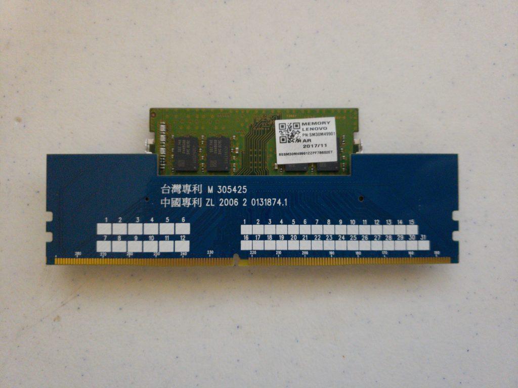 JET-5608AK DDR4 SODIMM to DIMM Adapter - 7