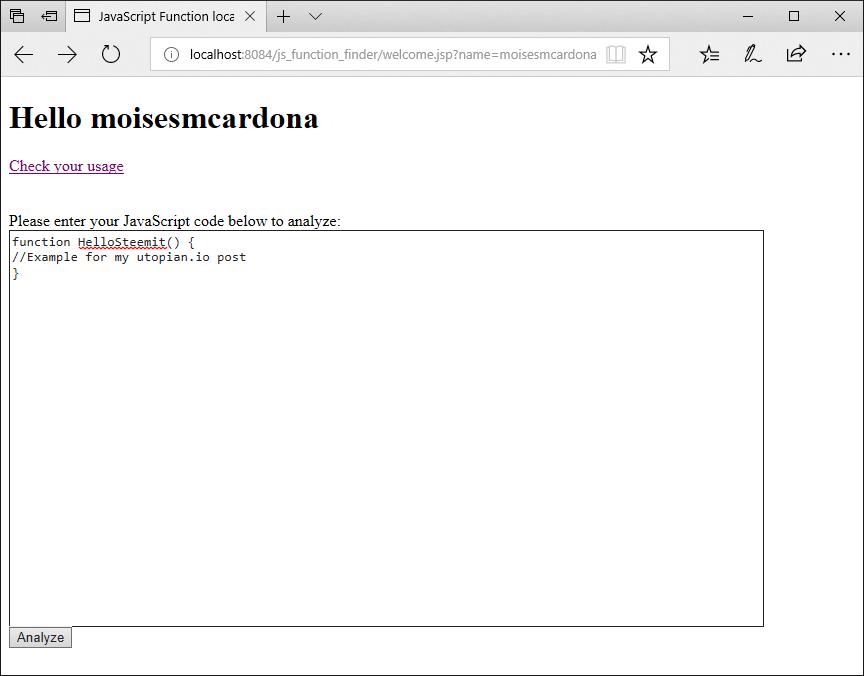 JavaScript Function Finder - 4