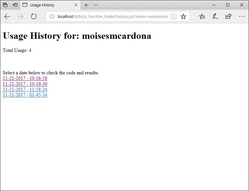 JavaScript Function Finder - 7
