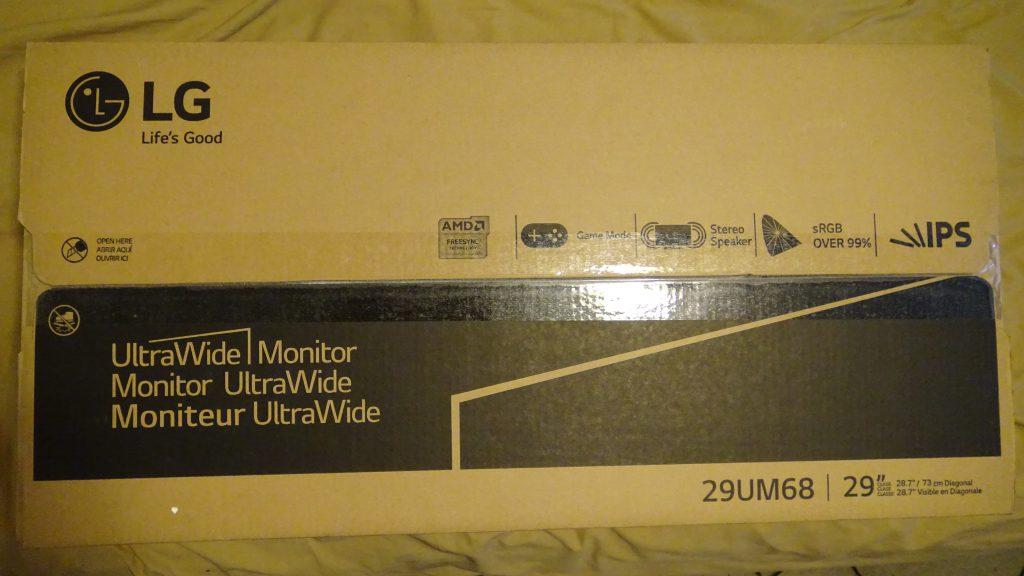 LG 29UM68-P UltraWide IPS Monitor - 1