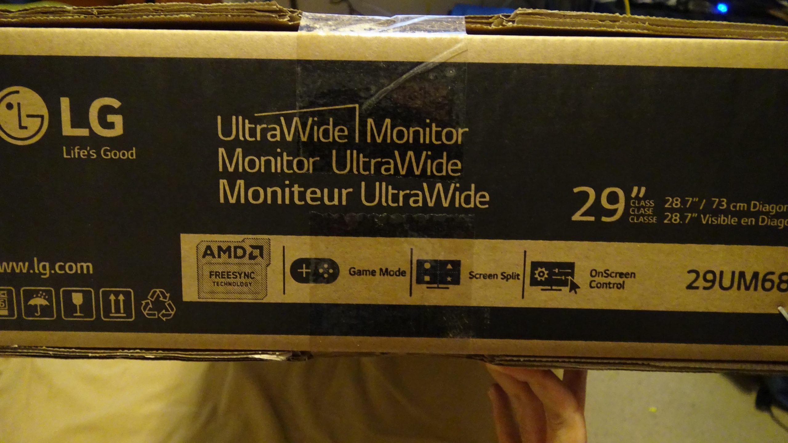 LG 29UM68-P UltraWide IPS Monitor - 2