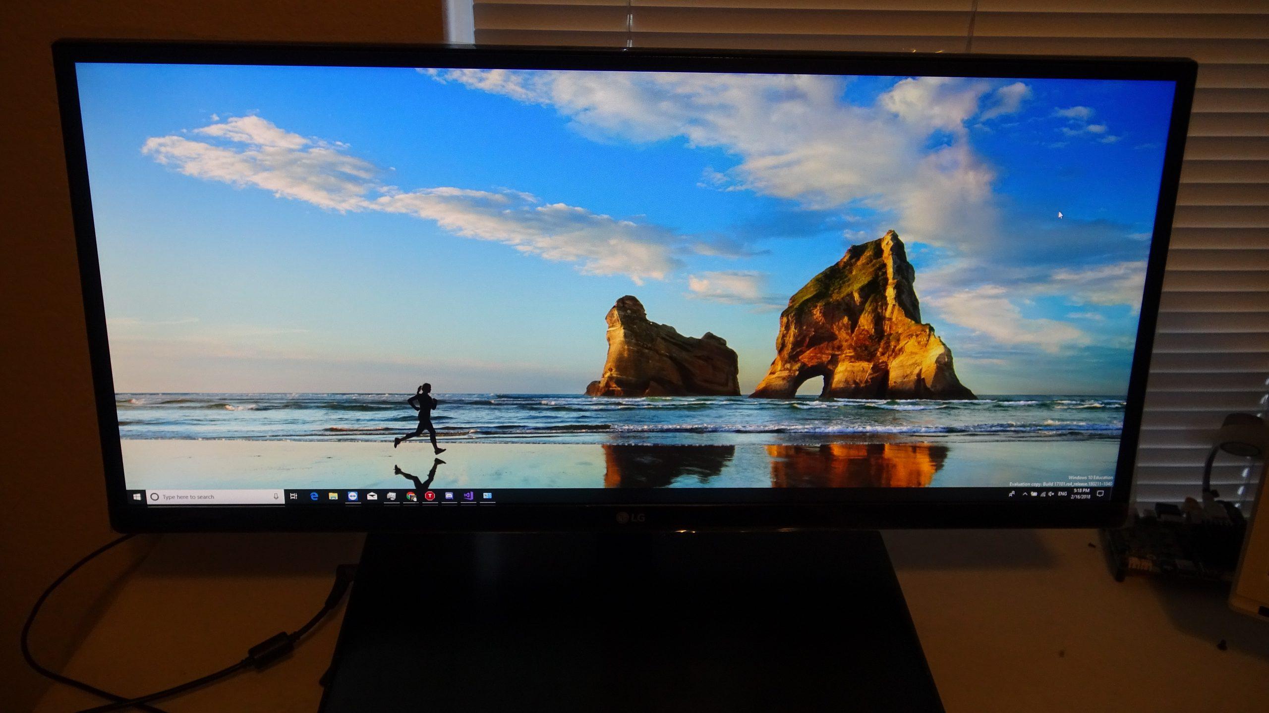 LG 29UM68-P UltraWide IPS Monitor - 33