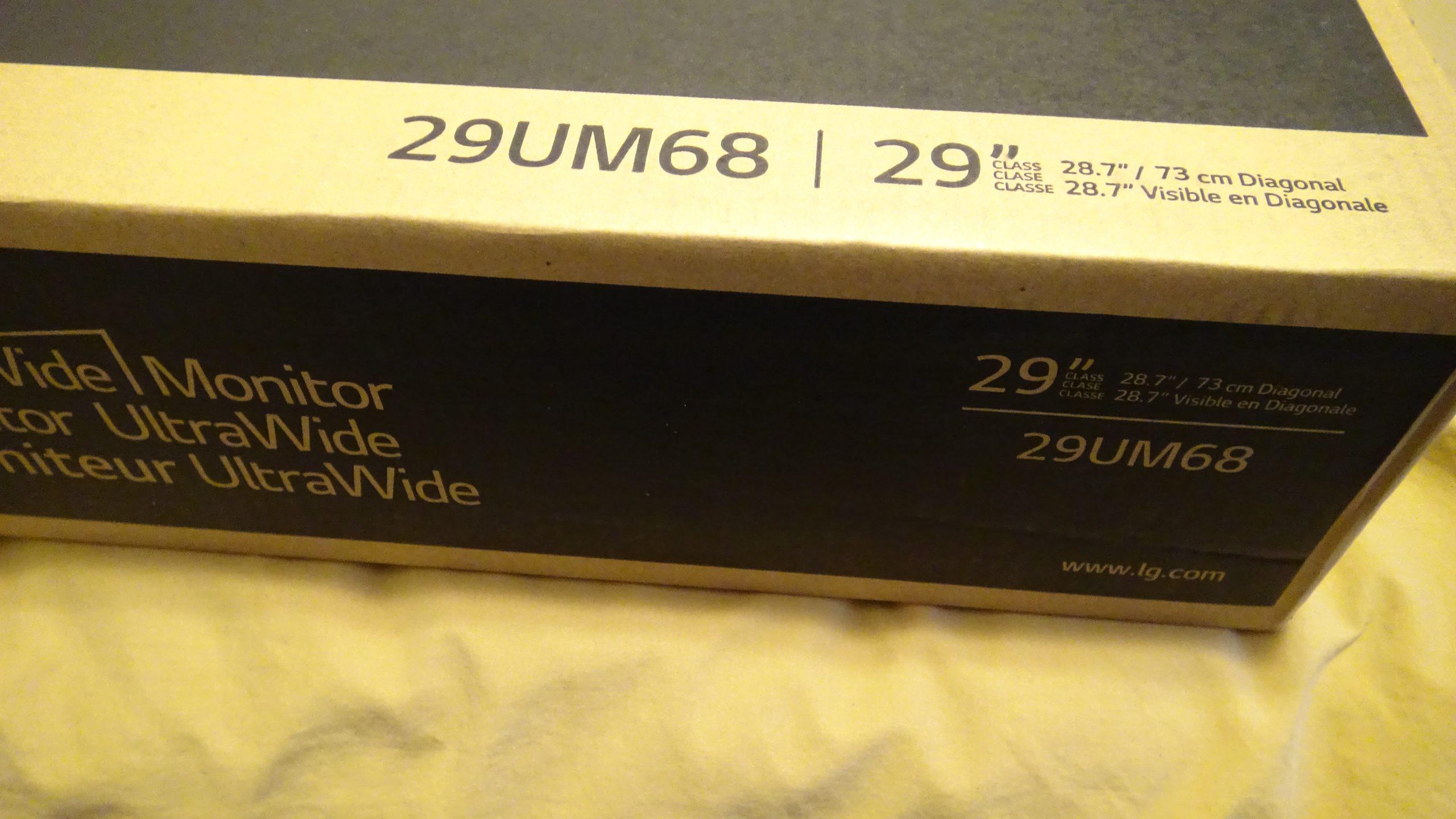 LG 29UM68-P UltraWide IPS Monitor - 4