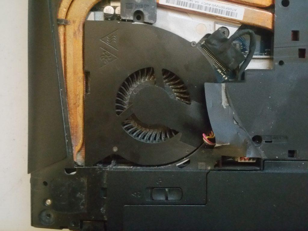 Lenovo Y510p fan - 3