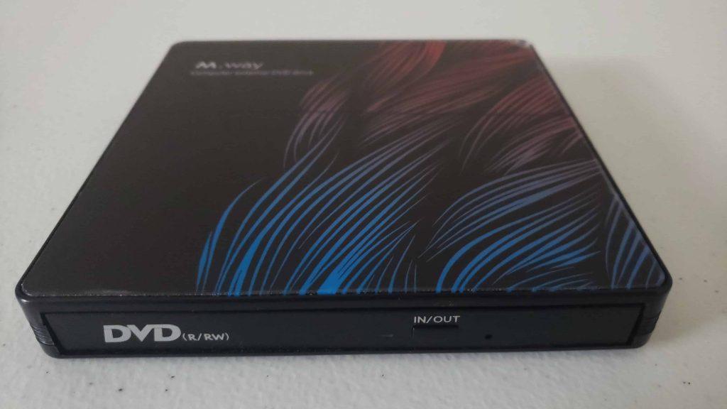 M Way External DVD Drive - Colorful Flame Pattern - 11
