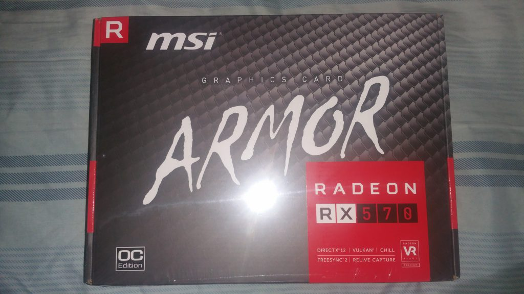 MSI Radeon RX 570 Armor 4GB OC - 1