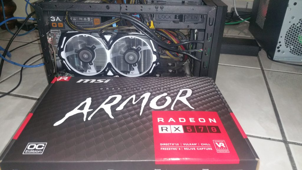 MSI Radeon RX 570 Armor 4GB OC - 5