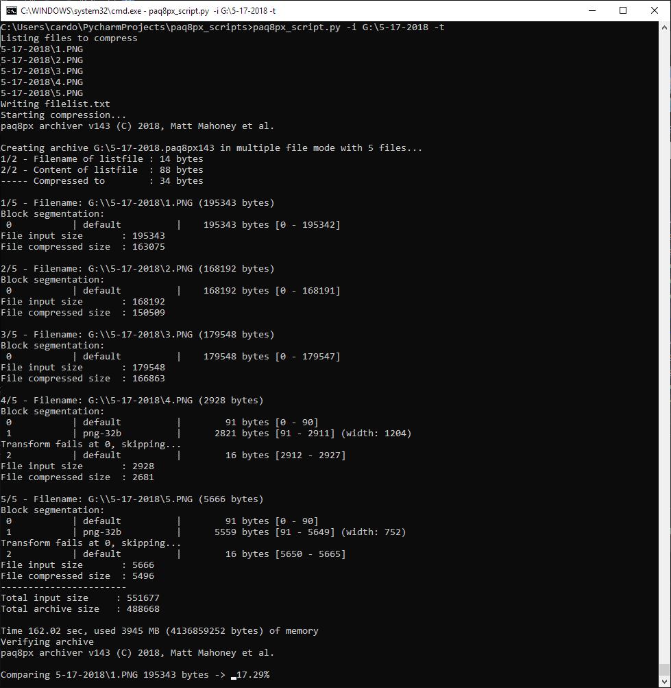 PAQ8PX Python Script 2
