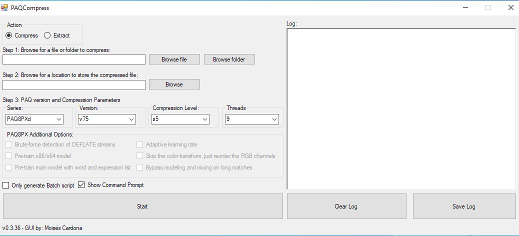 PAQCompress v0.3.36