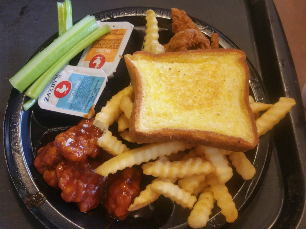Zaxby's Boneless Wings & Things