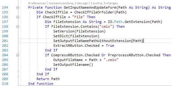 cmix GUI v1.1 - 10