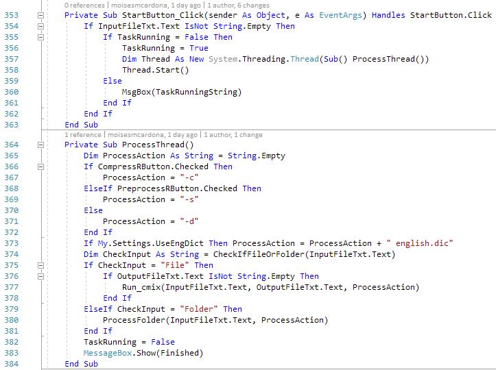 cmix GUI v1.1 - 3