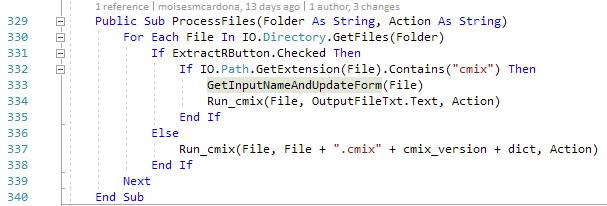cmix GUI v1.1 - 5