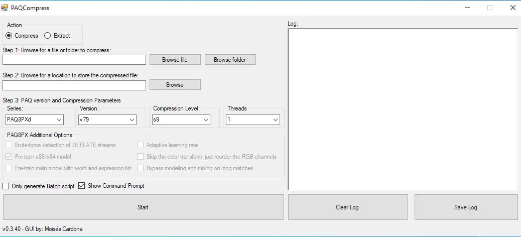 PAQCompress v0.3.40