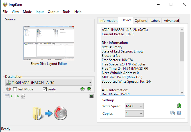 Pocket CD 97m15s17f Ritek Media 1