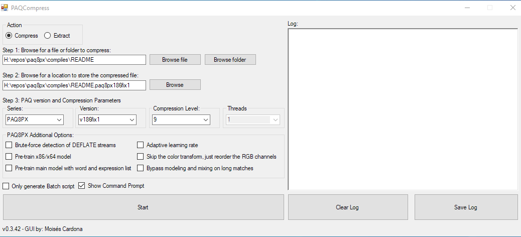 PAQCompress v0.3.42