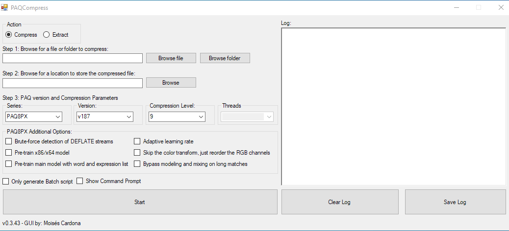 PAQCompress v0.3.43
