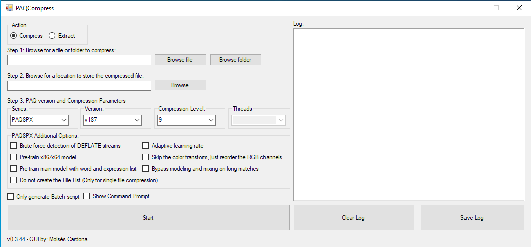PAQCompress v0.3.44