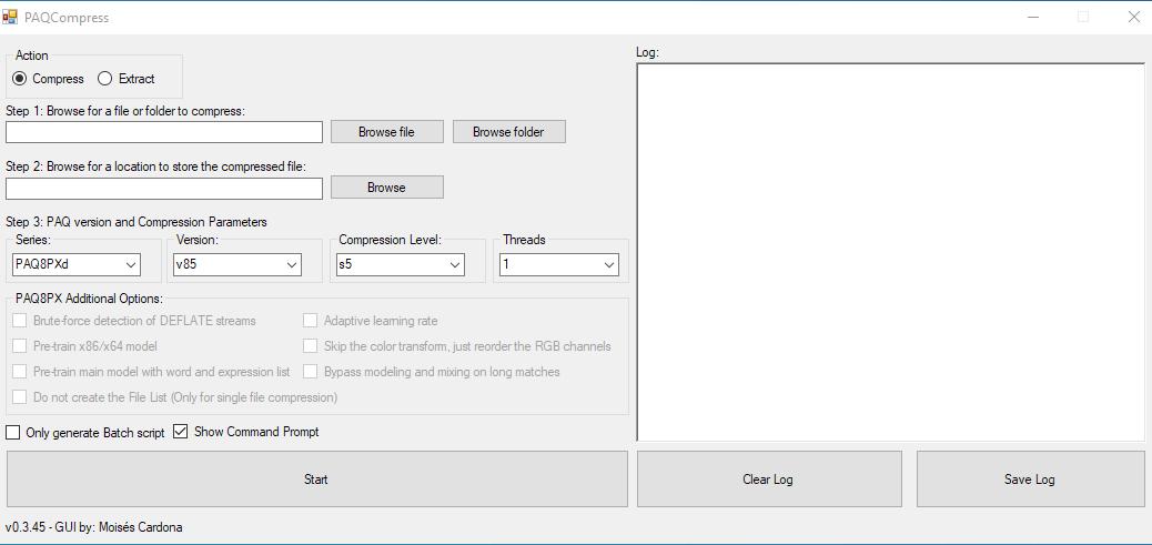 PAQCompress v0.3.45