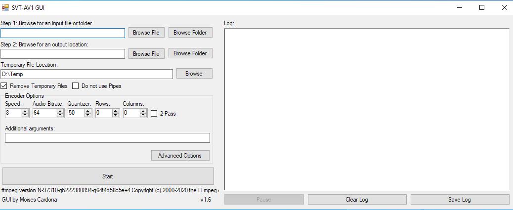 SVT-AV1 GUI v1.6