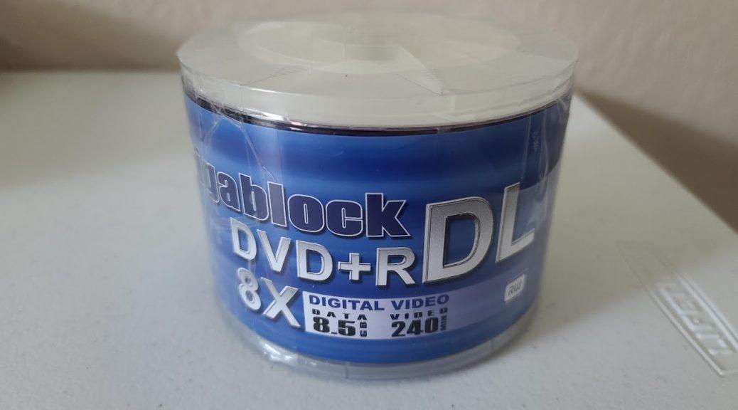Gigablock DVD+R DL 1