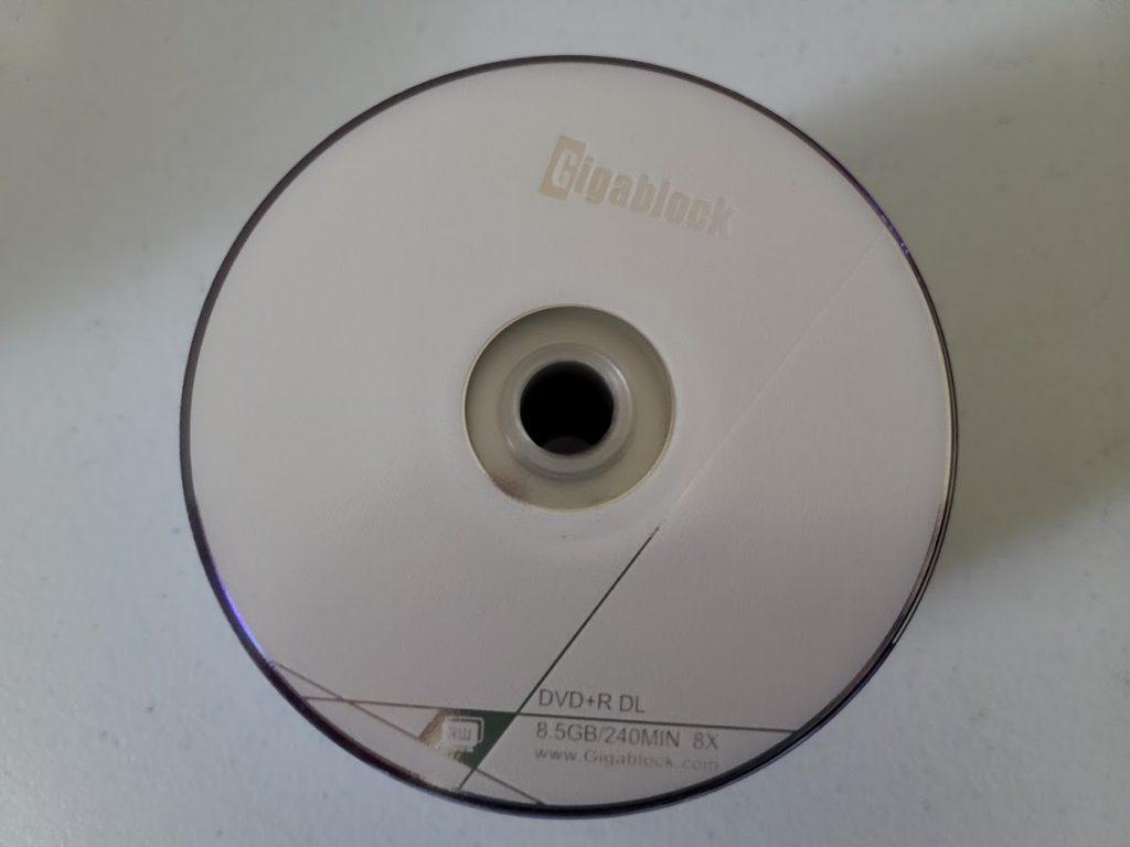 Gigablock DVD+R DL 3