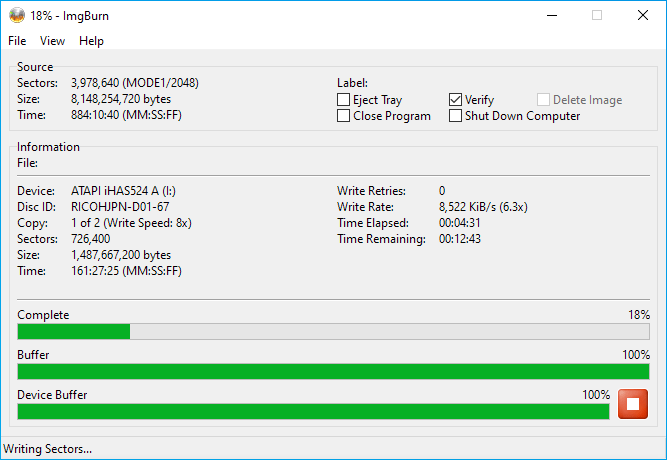 Gigablock DVD+R DL Burning 2