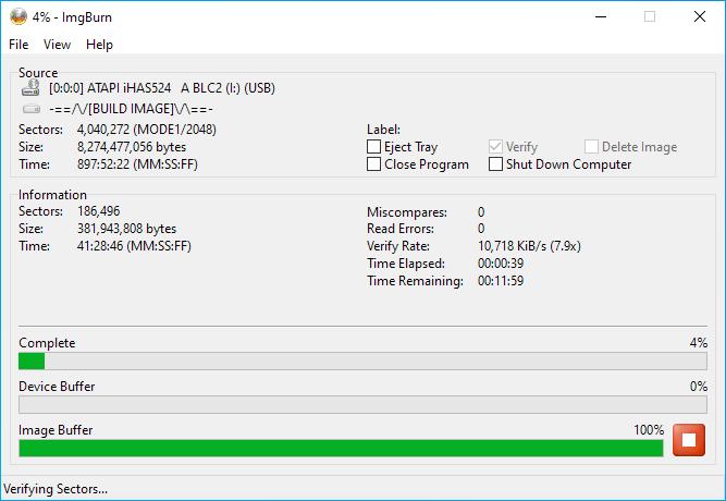Gigablock DVD+R DL Burning 8