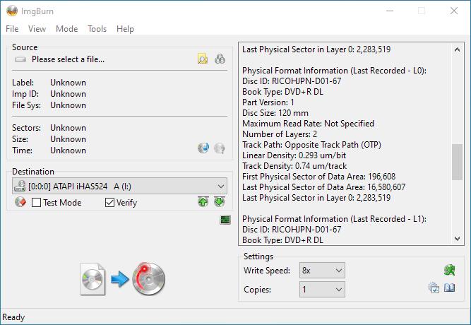 Gigablock DVD+R DL iHAS524 A Info 4