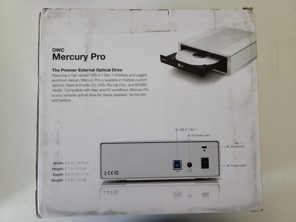OWC Mercury Pro 1