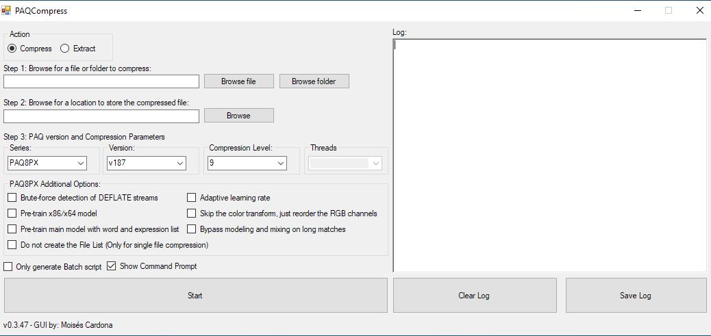 PAQCompress v0.3.47