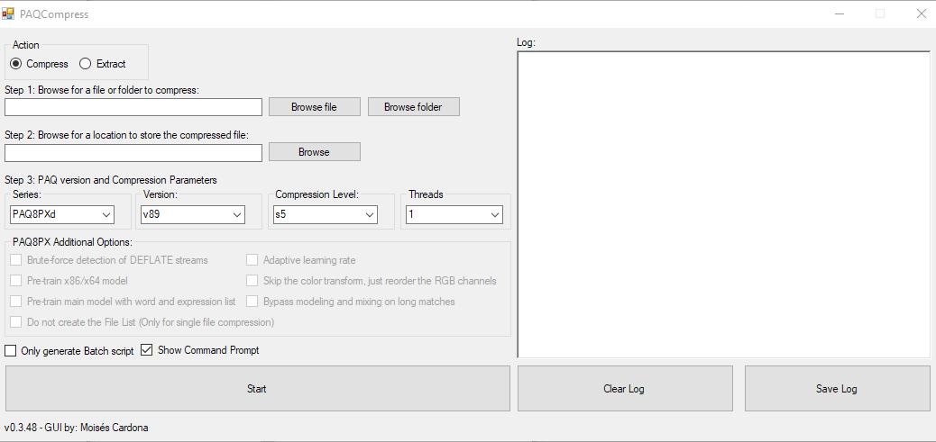 PAQCompress v0.3.48