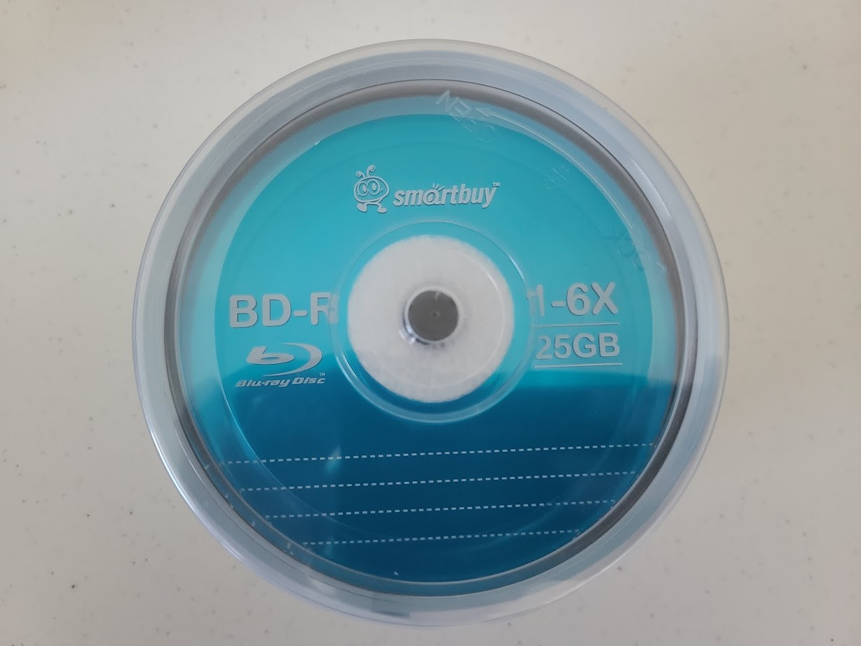SmartBuy BD-R 25GB 6x 3