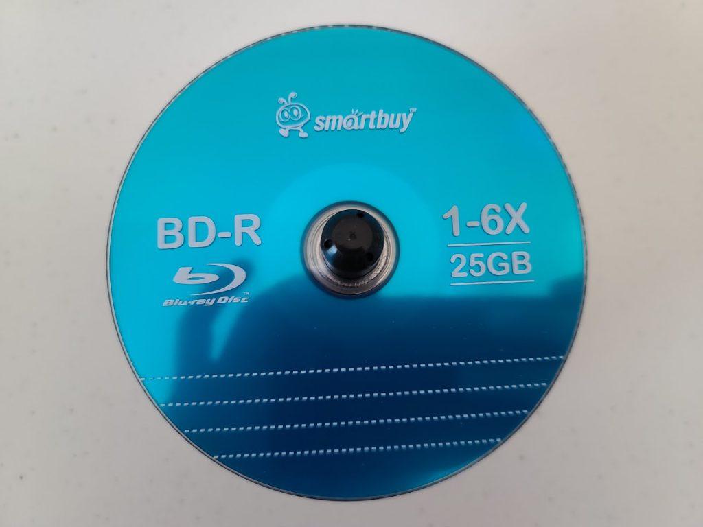 SmartBuy BD-R 25GB 6x 5