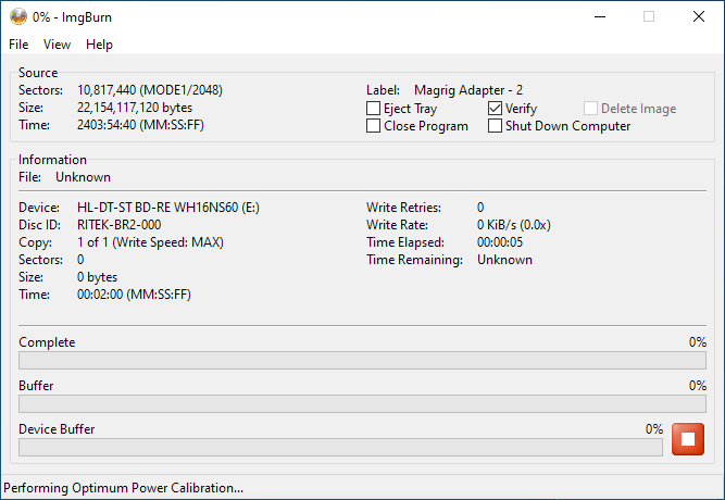 SmartBuy BD-R 25GB Burning 1