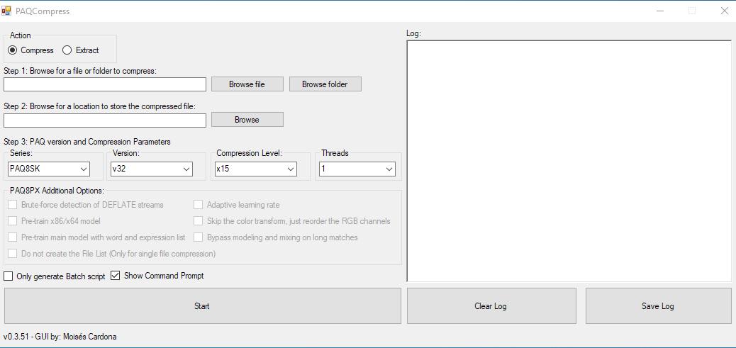 PAQCompress v0.3.51