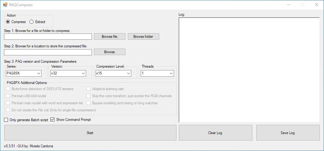PAQCompress v0.3.38