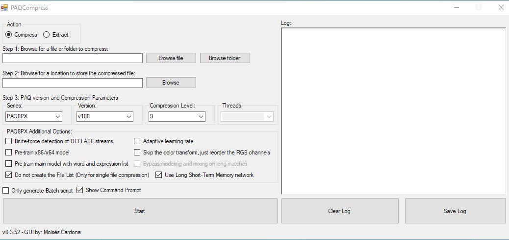 PAQCompress v0.3.52